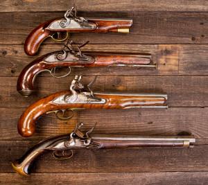 Flintlock Pistols.