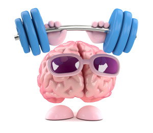 Brain is weightlifting again